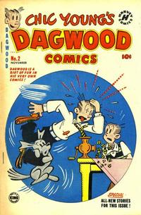 Cover Thumbnail for Chic Young's Dagwood Comics (Harvey, 1950 series) #2