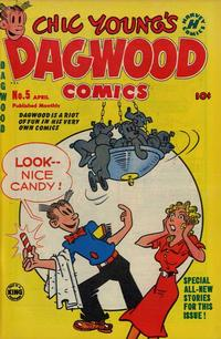 Cover Thumbnail for Chic Young's Dagwood Comics (Harvey, 1950 series) #5