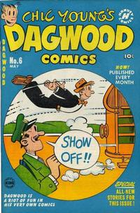 Cover Thumbnail for Chic Young's Dagwood Comics (Harvey, 1950 series) #6