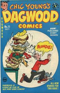 Cover Thumbnail for Chic Young's Dagwood Comics (Harvey, 1950 series) #11