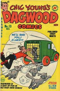 Cover Thumbnail for Chic Young's Dagwood Comics (Harvey, 1950 series) #13