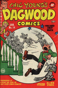 Cover Thumbnail for Chic Young's Dagwood Comics (Harvey, 1950 series) #14