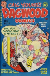 Cover Thumbnail for Chic Young's Dagwood Comics (Harvey, 1950 series) #15