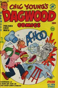 Cover Thumbnail for Chic Young's Dagwood Comics (Harvey, 1950 series) #17