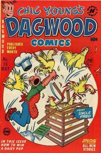 Cover Thumbnail for Chic Young's Dagwood Comics (Harvey, 1950 series) #18