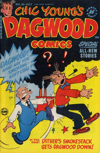 Cover Thumbnail for Chic Young's Dagwood Comics (Harvey, 1950 series) #20