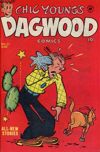 Cover Thumbnail for Chic Young's Dagwood Comics (Harvey, 1950 series) #21