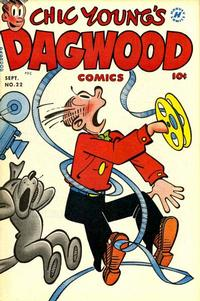 Cover Thumbnail for Chic Young's Dagwood Comics (Harvey, 1950 series) #22