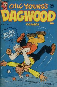Cover Thumbnail for Chic Young's Dagwood Comics (Harvey, 1950 series) #23