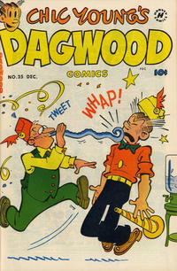 Cover Thumbnail for Chic Young's Dagwood Comics (Harvey, 1950 series) #25