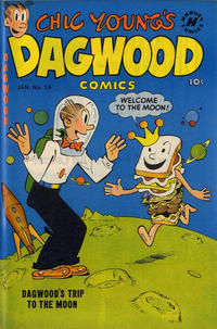 Cover Thumbnail for Chic Young's Dagwood Comics (Harvey, 1950 series) #26