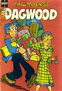 Cover Thumbnail for Chic Young's Dagwood Comics (Harvey, 1950 series) #38
