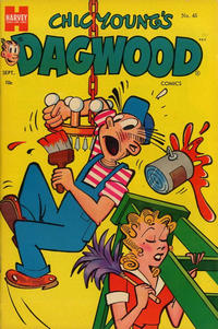 Cover Thumbnail for Chic Young's Dagwood Comics (Harvey, 1950 series) #45