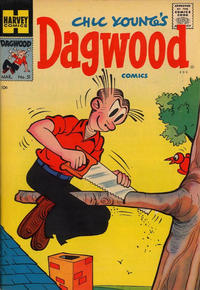 Cover Thumbnail for Chic Young's Dagwood Comics (Harvey, 1950 series) #51