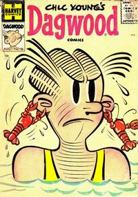 Cover Thumbnail for Chic Young's Dagwood Comics (Harvey, 1950 series) #56