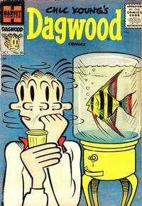 Cover Thumbnail for Chic Young's Dagwood Comics (Harvey, 1950 series) #58