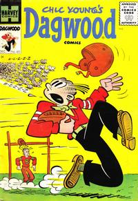 Cover Thumbnail for Chic Young's Dagwood Comics (Harvey, 1950 series) #60