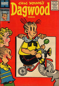 Cover Thumbnail for Chic Young's Dagwood Comics (Harvey, 1950 series) #64