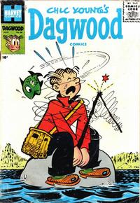 Cover Thumbnail for Chic Young's Dagwood Comics (Harvey, 1950 series) #66