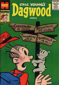 Cover Thumbnail for Chic Young's Dagwood Comics (Harvey, 1950 series) #70