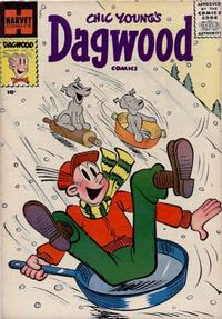 Cover Thumbnail for Chic Young's Dagwood Comics (Harvey, 1950 series) #73