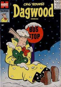 Cover Thumbnail for Chic Young's Dagwood Comics (Harvey, 1950 series) #74