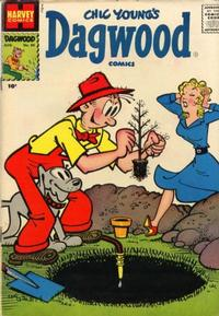 Cover Thumbnail for Chic Young's Dagwood Comics (Harvey, 1950 series) #80