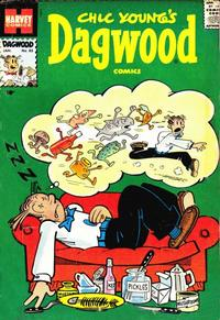 Cover Thumbnail for Chic Young's Dagwood Comics (Harvey, 1950 series) #85