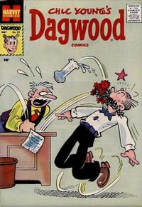 Cover Thumbnail for Chic Young's Dagwood Comics (Harvey, 1950 series) #89