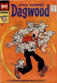 Cover Thumbnail for Chic Young's Dagwood Comics (Harvey, 1950 series) #92