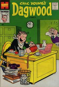 Cover Thumbnail for Chic Young's Dagwood Comics (Harvey, 1950 series) #93