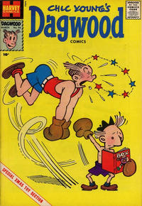 Cover Thumbnail for Chic Young's Dagwood Comics (Harvey, 1950 series) #98