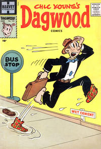 Cover Thumbnail for Chic Young's Dagwood Comics (Harvey, 1950 series) #101