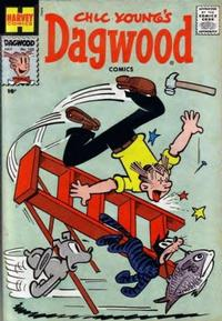 Cover Thumbnail for Chic Young's Dagwood Comics (Harvey, 1950 series) #102