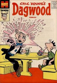 Cover Thumbnail for Chic Young's Dagwood Comics (Harvey, 1950 series) #104