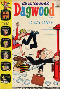 Cover Thumbnail for Chic Young's Dagwood Comics (Harvey, 1950 series) #129