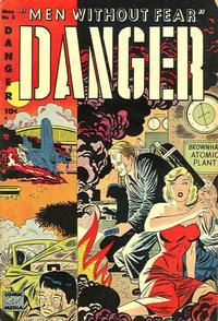 Cover Thumbnail for Danger (Comic Media, 1953 series) #3