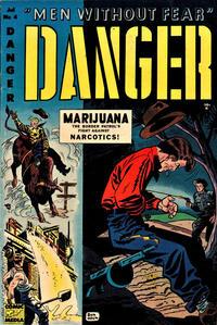 Cover Thumbnail for Danger (Comic Media, 1953 series) #4
