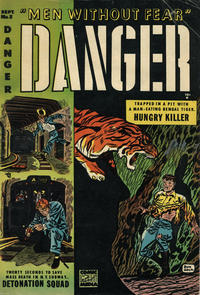 Cover Thumbnail for Danger (Comic Media, 1953 series) #5