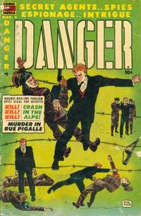 Cover Thumbnail for Danger (Comic Media, 1953 series) #8