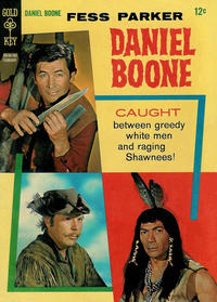 Cover Thumbnail for Daniel Boone (Western, 1965 series) #8