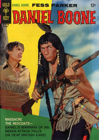 Cover Thumbnail for Daniel Boone (Western, 1965 series) #10