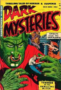 Cover Thumbnail for Dark Mysteries (Master Comics, 1951 series) #3
