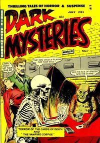 Cover Thumbnail for Dark Mysteries (Master Comics, 1951 series) #7