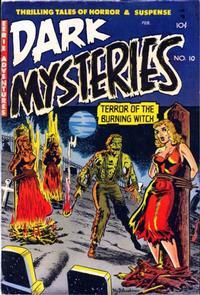 Cover Thumbnail for Dark Mysteries (Master Comics, 1951 series) #10
