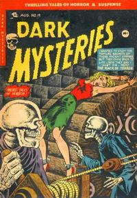 Cover Thumbnail for Dark Mysteries (Master Comics, 1951 series) #19