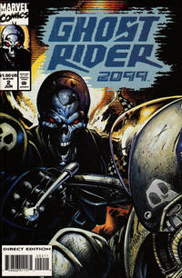 Cover Thumbnail for Ghost Rider 2099 (Marvel, 1994 series) #2 [Direct Edition]
