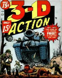 Cover Thumbnail for 3-D Action (Marvel, 1954 series) #1