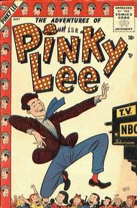 Cover Thumbnail for Pinky Lee (Marvel, 1955 series) #1