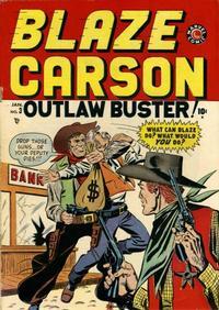 Cover Thumbnail for Blaze Carson (Marvel, 1948 series) #3